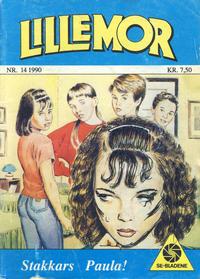 Cover Thumbnail for Lillemor (Serieforlaget / Se-Bladene / Stabenfeldt, 1969 series) #14/1990