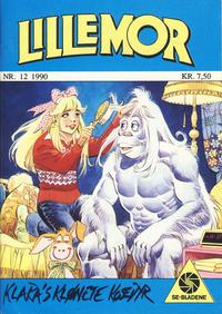 Cover Thumbnail for Lillemor (Serieforlaget / Se-Bladene / Stabenfeldt, 1969 series) #12/1990