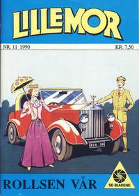 Cover Thumbnail for Lillemor (Serieforlaget / Se-Bladene / Stabenfeldt, 1969 series) #11/1990
