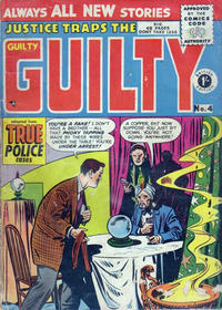 Cover Thumbnail for Justice Traps the Guilty (Arnold Book Company, 1951 series) #4