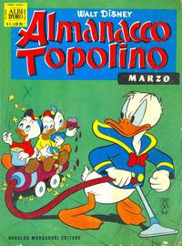Cover Thumbnail for Almanacco Topolino (Arnoldo Mondadori Editore, 1957 series) #111