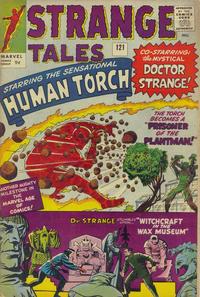 Cover for Strange Tales (Marvel, 1951 series) #121