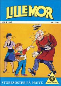 Cover Thumbnail for Lillemor (Serieforlaget / Se-Bladene / Stabenfeldt, 1969 series) #4/1990