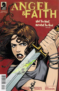 Cover Thumbnail for Angel & Faith (Dark Horse, 2011 series) #21 [Rebekah Isaacs Alternate Cover]