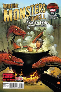 Cover Thumbnail for Where Monsters Dwell (Marvel, 2015 series) #4