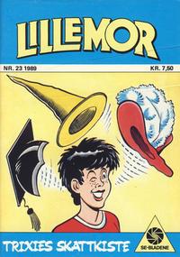 Cover Thumbnail for Lillemor (Serieforlaget / Se-Bladene / Stabenfeldt, 1969 series) #23/1989