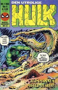 Cover Thumbnail for Hulk (Semic, 1984 series) #2/1985