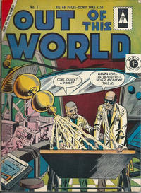 Cover Thumbnail for Out of This World (Thorpe & Porter, 1961 ? series) #1