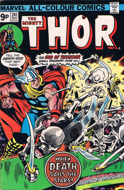 Cover for Thor (Marvel, 1966 series) #241 [British]