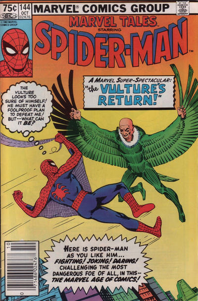 Cover for Marvel Tales (Marvel, 1966 series) #144