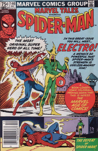 Cover for Marvel Tales (Marvel, 1966 series) #146 [Canadian]