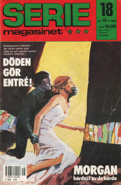 Cover for Seriemagasinet (Semic, 1970 series) #18/1988