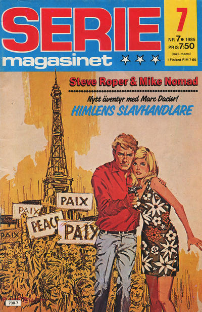 Cover for Seriemagasinet (Semic, 1970 series) #7/1985