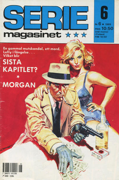 Cover for Seriemagasinet (Semic, 1970 series) #6/1989