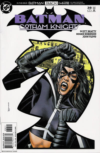 Cover for Batman: Gotham Knights (DC, 2000 series) #38 [Direct Edition]