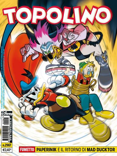 Cover for Topolino (The Walt Disney Company Italia, 1988 series) #2967