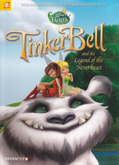 Cover for Disney Fairies (NBM, 2010 series) #17 - Tinker Bell and the Legend of the NeverBeast