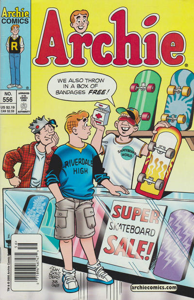 Cover for Archie (Archie, 1959 series) #556