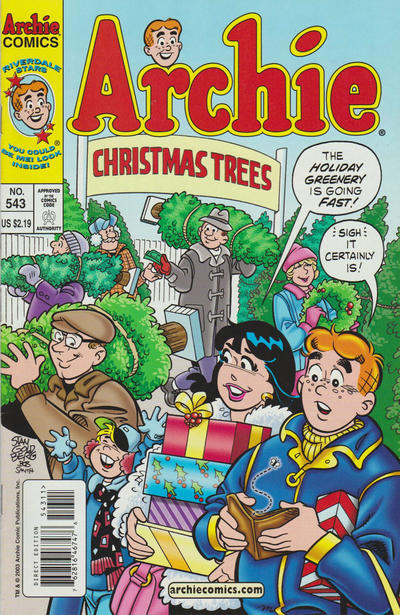 Cover for Archie (Archie, 1959 series) #543
