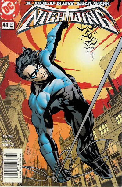 Cover for Nightwing (DC, 1996 series) #41 [Direct Sales]