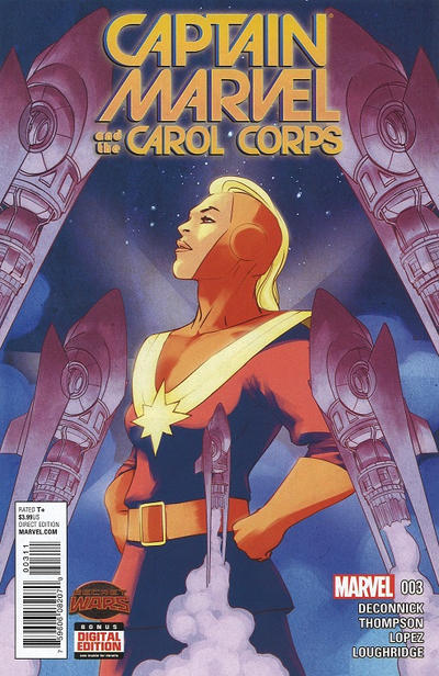 Cover for Captain Marvel & the Carol Corps (Marvel, 2015 series) #3