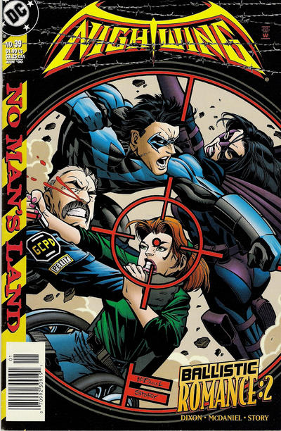 Cover for Nightwing (DC, 1996 series) #39 [Direct Sales]