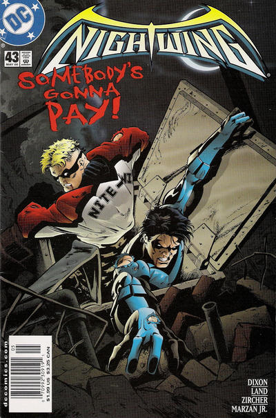 Cover for Nightwing (DC, 1996 series) #43 [Direct Sales]