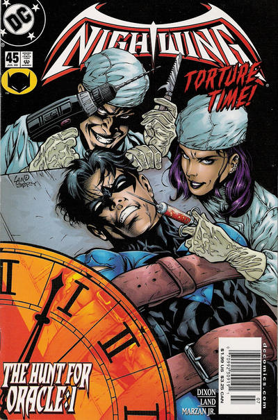 Cover for Nightwing (DC, 1996 series) #45 [Direct Sales]
