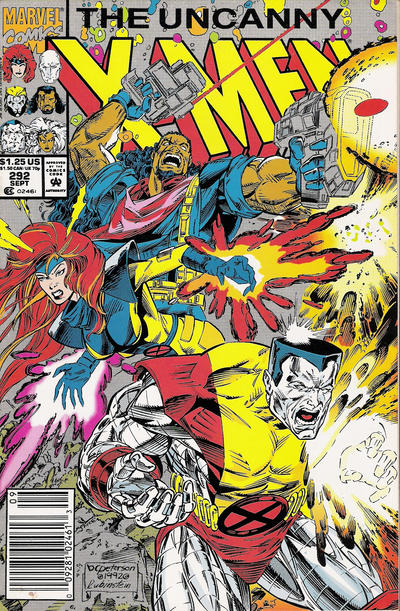 Cover for The Uncanny X-Men (Marvel, 1981 series) #292