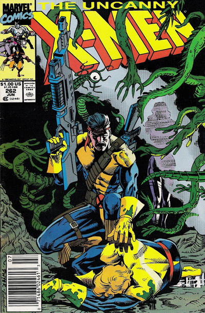 Cover for The Uncanny X-Men (Marvel, 1981 series) #262 [Direct]