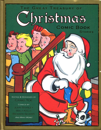 Cover for The Great Treasury of Christmas Comic Book Stories (IDW, 2010 series)