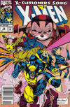 Cover for X-Men (Marvel, 1991 series) #14 [Newsstand Edition]