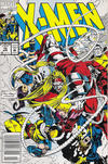Cover for X-Men (Marvel, 1991 series) #18 [Newsstand Edition]