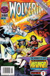 Cover Thumbnail for Wolverine (1988 series) #104 [Newsstand Edition]