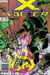 Cover for X-Factor (Marvel, 1986 series) #21 [Newsstand]