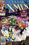 Cover for Classic X-Men (Marvel, 1986 series) #6 [Newsstand]