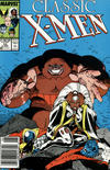 Cover for Classic X-Men (Marvel, 1986 series) #10 [Newsstand]
