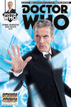 Cover for Doctor Who: The Twelfth Doctor (Titan, 2014 series) #1 [Hoknes Comics Variant Cover]