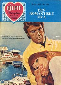 Cover Thumbnail for Hjerterevyen (Serieforlaget / Se-Bladene / Stabenfeldt, 1960 series) #45/1976
