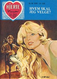 Cover Thumbnail for Hjerterevyen (Serieforlaget / Se-Bladene / Stabenfeldt, 1960 series) #44/1976