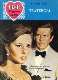 Cover Thumbnail for Hjerterevyen (Serieforlaget / Se-Bladene / Stabenfeldt, 1960 series) #43/1976