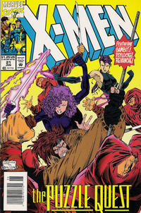 Cover for X-Men (Marvel, 1991 series) #21 [Direct]