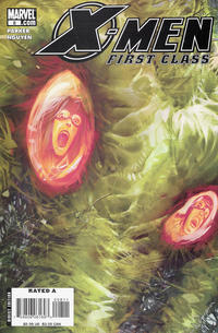 Cover Thumbnail for X-Men: First Class (Marvel, 2007 series) #8 [Direct Edition]