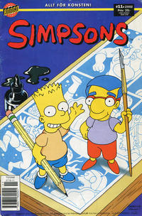 Cover Thumbnail for Simpsons (Egmont, 2001 series) #11/2002