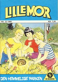 Cover Thumbnail for Lillemor (Serieforlaget / Se-Bladene / Stabenfeldt, 1969 series) #22/1989