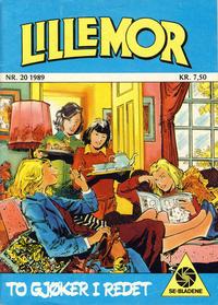 Cover Thumbnail for Lillemor (Serieforlaget / Se-Bladene / Stabenfeldt, 1969 series) #20/1989