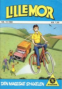Cover Thumbnail for Lillemor (Serieforlaget / Se-Bladene / Stabenfeldt, 1969 series) #19/1989