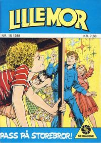 Cover Thumbnail for Lillemor (Serieforlaget / Se-Bladene / Stabenfeldt, 1969 series) #15/1989