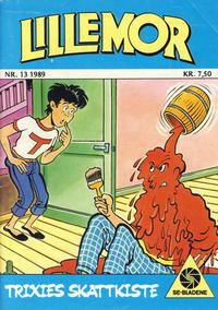 Cover Thumbnail for Lillemor (Serieforlaget / Se-Bladene / Stabenfeldt, 1969 series) #13/1989