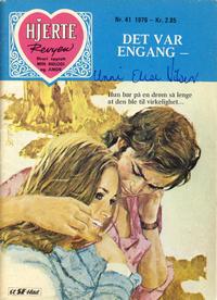 Cover Thumbnail for Hjerterevyen (Serieforlaget / Se-Bladene / Stabenfeldt, 1960 series) #41/1976
